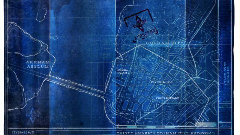 Batman Arkham Asylum – The Hidden Blueprint