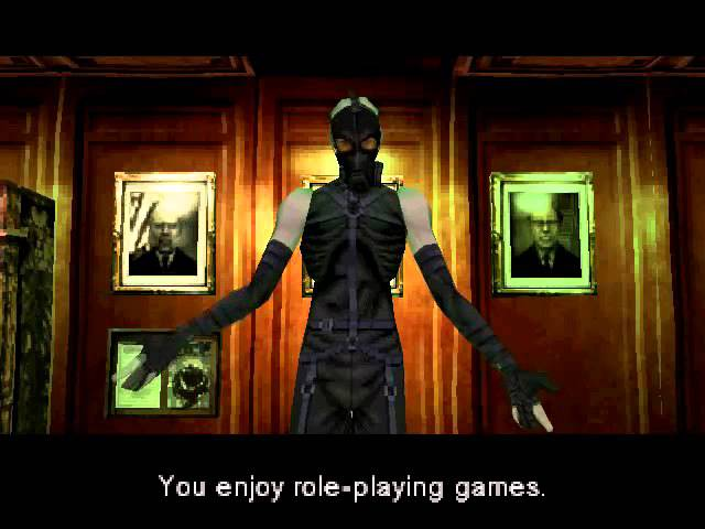 Metal Gear Solid 2 – Psycho Mantis