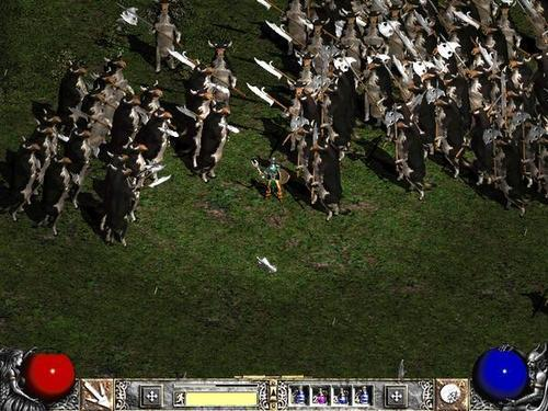 Diablo II – Hell Bovine