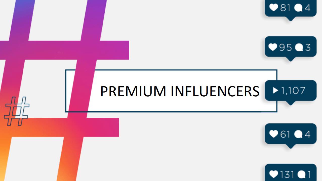 influencer premium