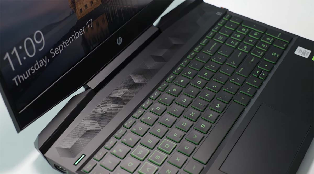hp pavilion gaming 15 2020 keyboard