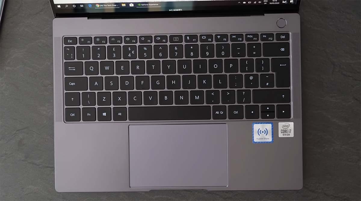 huawei matebook x pro 2020 keyboard