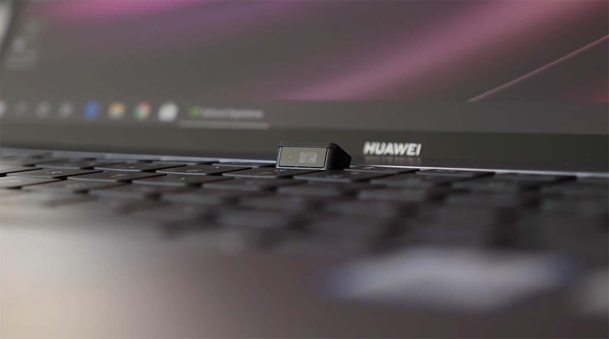 huawei matebook x pro 2020 webcam hidden