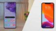 iphone 11 pro vs samsung galaxy s20