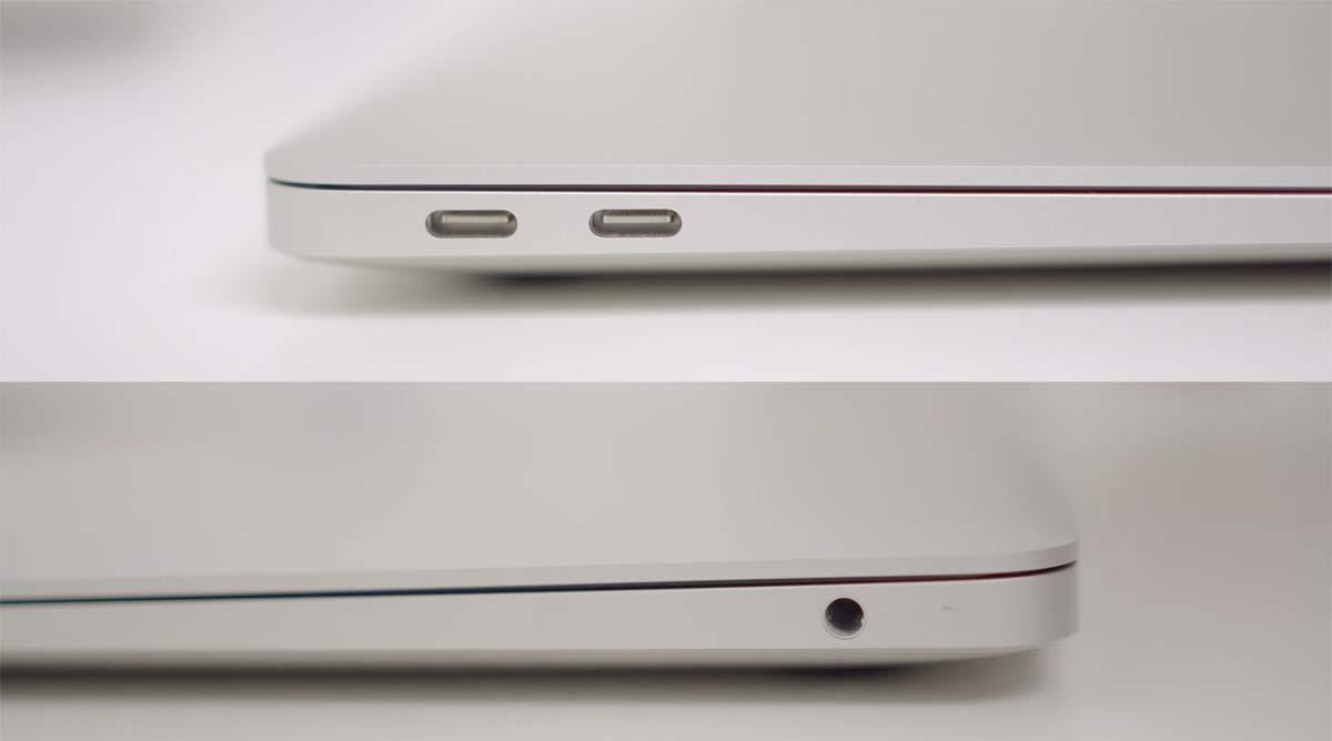 macbook air 2020 port