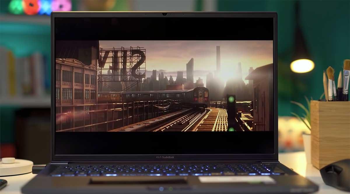 Asus Pro Art Studiobook Pro X W7390-G5T (2020) Layar
