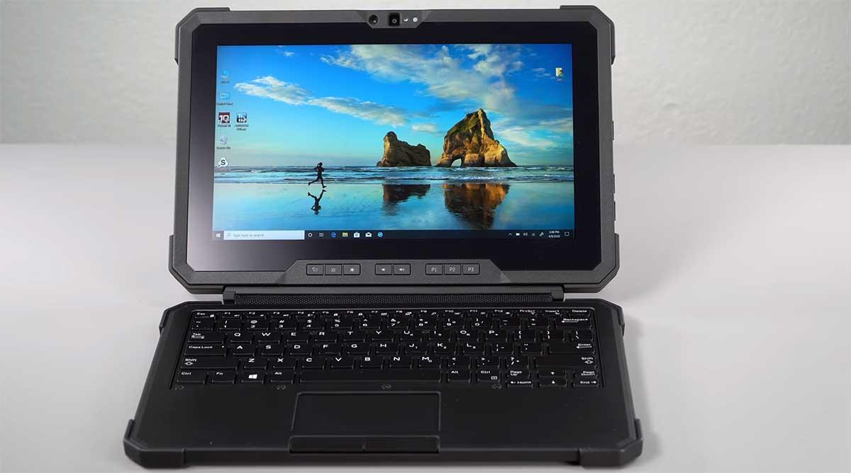 Dengan-Keyboard-Dell-Latitude-7220-Rugged-Extreme-Tablet