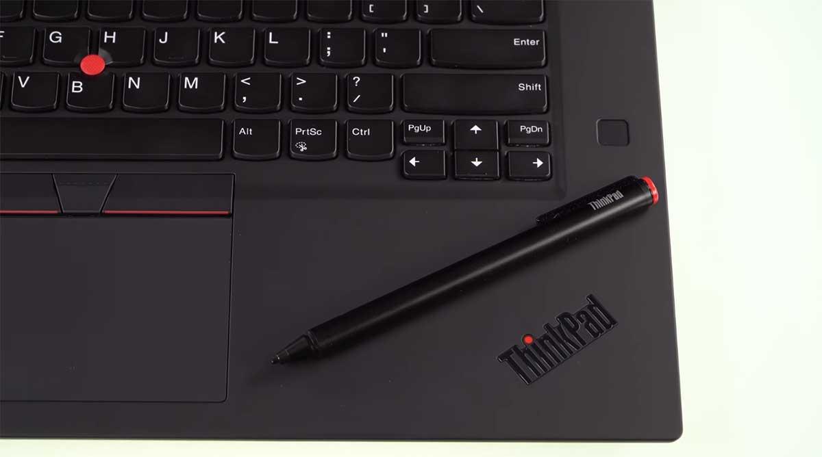 Lenovo ThinkPad P1 Gen 2 keyboard